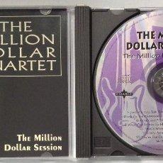CDs de Música: THE MILLION DOLLAR QUARTET THE MILLION DOLLAR SESSION CD. Lote 201683043