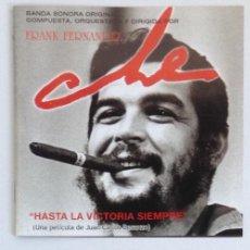 CDs de Música: CHE GUEVARA BSO FRANK FERNANDEZ JUAN CARLOS DASANZO HASTA LA VICTORIA SIEMPRE. Lote 201683258