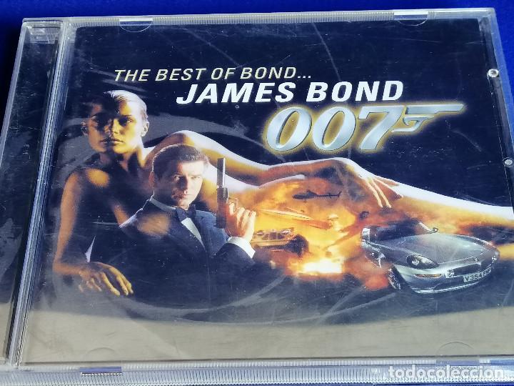 THE BEST OF BOND JAMES BOND 007 (Música - CD's Bandas Sonoras)