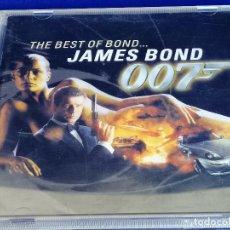 CDs de Música: THE BEST OF BOND JAMES BOND 007. Lote 201685088