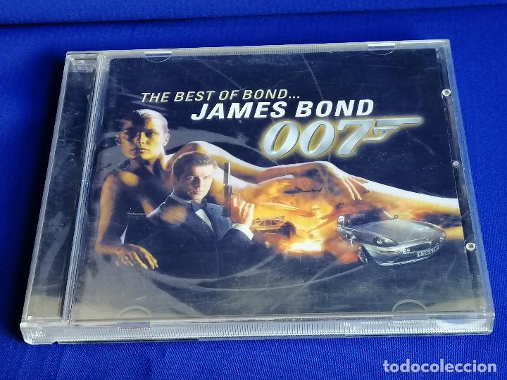 CDs de Música: THE BEST OF BOND JAMES BOND 007 - Foto 2 - 201685088