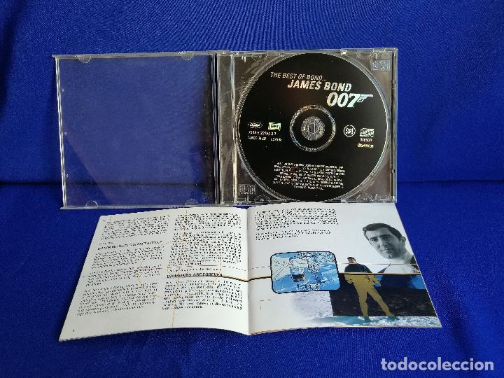 CDs de Música: THE BEST OF BOND JAMES BOND 007 - Foto 5 - 201685088