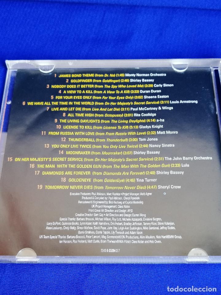 CDs de Música: THE BEST OF BOND JAMES BOND 007 - Foto 6 - 201685088