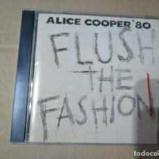 CDs de Música: ALICE COOPER - FLUSH THE FASHION - CD - JAPAN. Lote 201686142
