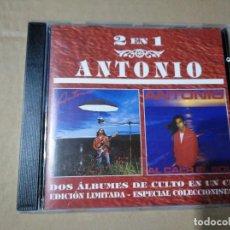 CDs de Música: ANTONIO FLORES - ANTONIO / AL CAER EL SOL - CD. Lote 201686480