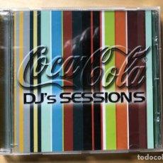 CDs de Música: COCA-COLA / DJ'S SESSIONS 14 TEMAS. Lote 201711198