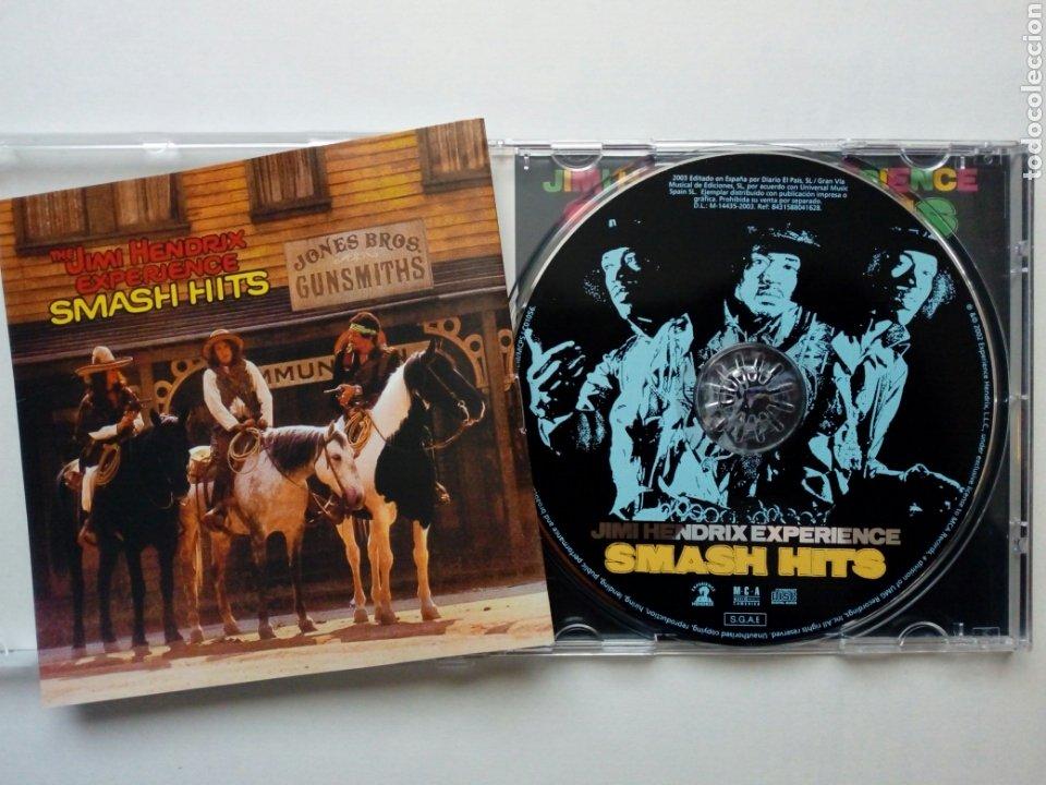CDs de Música: CD: JIMI HENDRIX EXPERIENCE - Smash Hits (MCA, 2003) - Foto 2 - 201724691