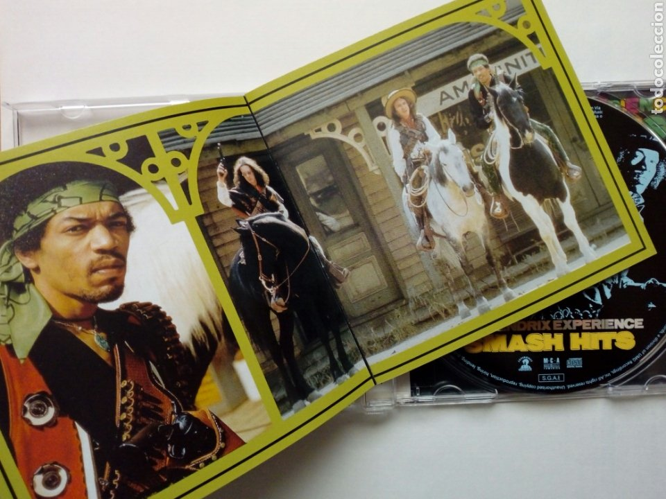 CDs de Música: CD: JIMI HENDRIX EXPERIENCE - Smash Hits (MCA, 2003) - Foto 3 - 201724691