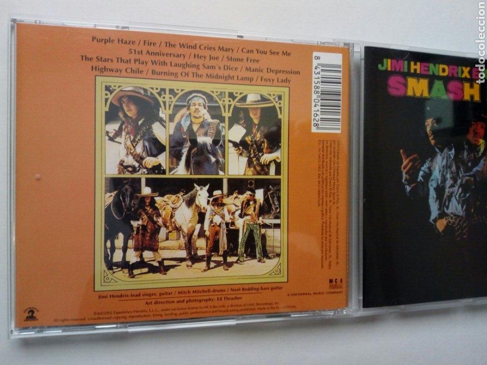 CDs de Música: CD: JIMI HENDRIX EXPERIENCE - Smash Hits (MCA, 2003) - Foto 4 - 201724691