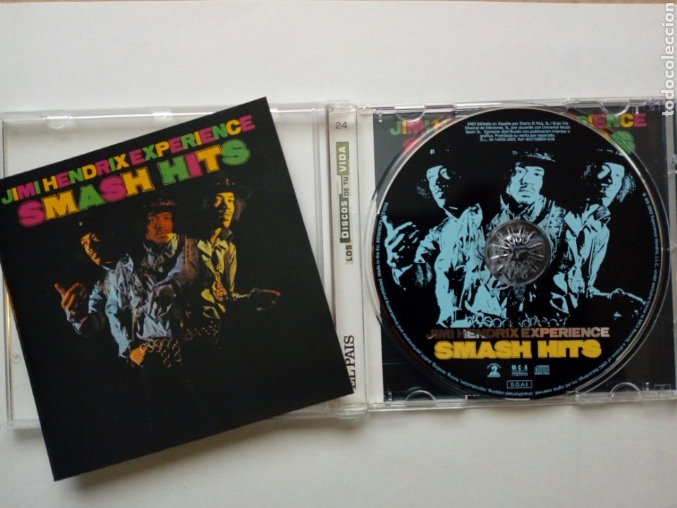 CD: JIMI HENDRIX EXPERIENCE - SMASH HITS (MCA, 2003) (Música - CD's Rock)