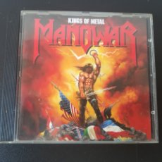 CDs de Música: MANOWAR. KINGS OF METAL.. Lote 201733563
