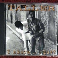 CDs de Música: TALLER (Y AHORA... ¿QUE?) CD 1994 (CON ANA BELEN, VICTOR MANUEL... - PEDRO GUERRA). Lote 201752197