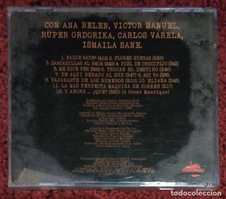 CDs de Música: TALLER (Y AHORA... ¿QUE?) CD 1994 (Con ANA BELEN, VICTOR MANUEL... - PEDRO GUERRA) - Foto 2 - 201752197