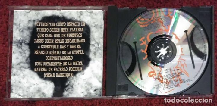 CDs de Música: TALLER (Y AHORA... ¿QUE?) CD 1994 (Con ANA BELEN, VICTOR MANUEL... - PEDRO GUERRA) - Foto 3 - 201752197
