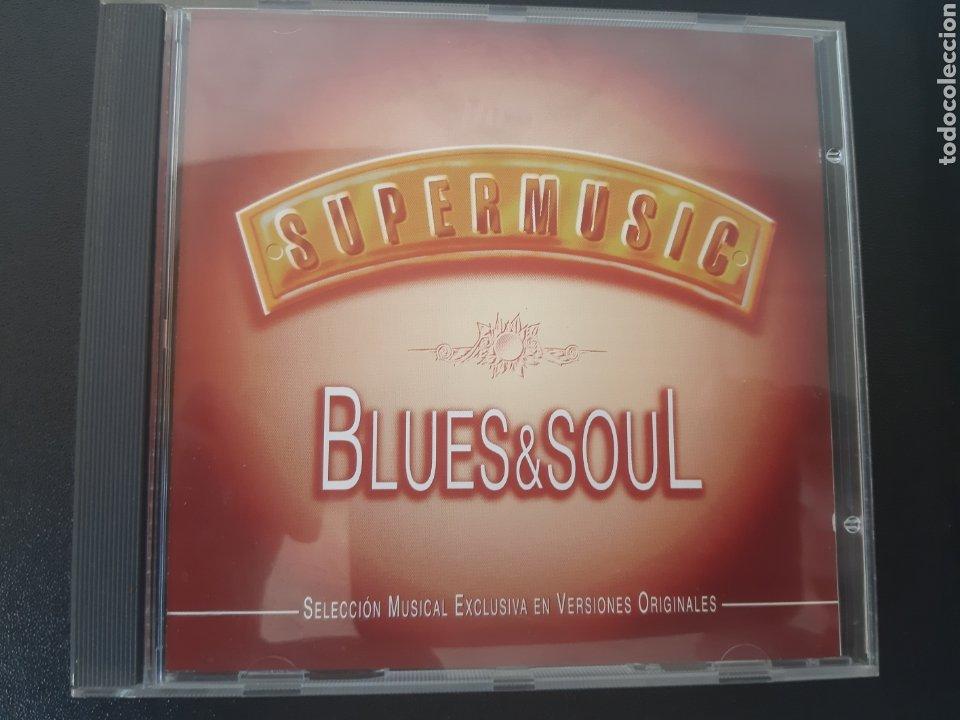 SUPERMUSIC BLUES & SOUL. (Música - CD's Jazz, Blues, Soul y Gospel)