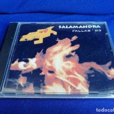 CDs de Música: DISCOTECA SALAMANDRA FALLAS 2003. Lote 201804845