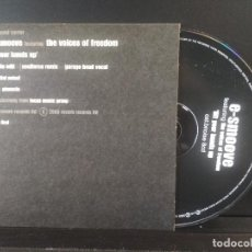 CDs de Música: E-SMOOVE THE VOICES OF FREEDOM CD MAXI 2000 PEPETO. Lote 201836925