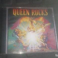 CDs de Música: QUEEN ROCKS CD ORIGINAL CON AMPLIO LIBRETO CON LAS LETRAS. . Lote 201844462