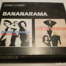 CDs de Música: CD 2 DISCOS BANANARAMA. 30 TEMAS. WARNER 2005 UK NUNCA EN TODOCOLECCIÓN (BUEN ESTADO). Lote 201900766