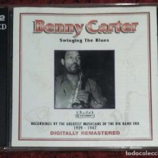 CDs de Música: BENNY CARTER (SWINGING THE BLUES) 2 CD'S. Lote 201904340