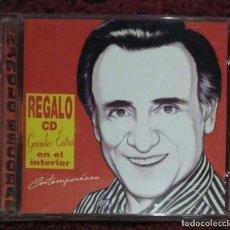 CDs de Música: MANOLO ESCOBAR (CONTEMPORANEO) CD + CD GRANDES EXITOS 1999. Lote 201906075