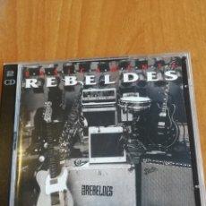CDs de Música: CD POP-ROCK REBELDES BASICAMENTE 2 CDS 1995. Lote 201910648
