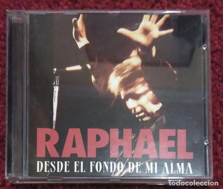 RAPHAEL (DESDE EL FONDO DE MI ALMA) CD 1995 (Música - CD's Melódica )