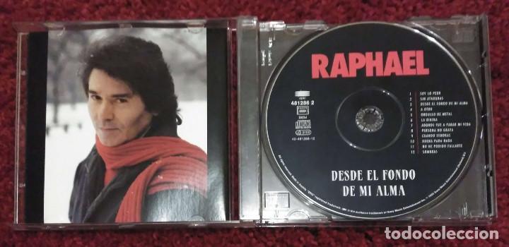 CDs de Música: RAPHAEL (DESDE EL FONDO DE MI ALMA) CD 1995 - Foto 3 - 201912618