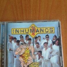 CDs de Música: CD LOS INHUMANOS CARA DURA 2001. Lote 201923536