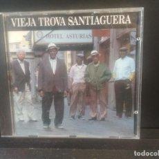 CDs de Música: VIEJA TROVA SANTIAGUERA - HOTEL ASTURIAS - CD 1996 - SPAIN NUBE NEGRA . Lote 201925332