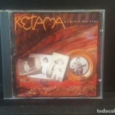 CDs de Música: KETAMA - PA GENTE CON ALMA (CD) 1991 - 10 TEMAS PEPETO. Lote 201927803