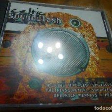 CDs de Música: CELTIC SOUNDCLASH-VARIOS ARTISTAS-CD-15 TEMAS-MANUEL BUDIÑO-MANDRAGORA..-C 9. Lote 201929540