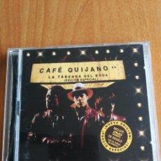 CDs de Música: CD CAFÉ QUIJANO LA TABERNA DEL BUDA EDICION ESPECIAL CD/DVD 2002. Lote 201930983