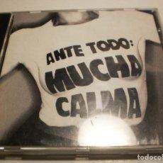 CDs de Música: CD SINIESTRO TOTAL. ANTE TODO: MUCHA CALMA. 30 TEMAS CON LIBRETO. ARIOLA 1992 (SEMINUEVO). Lote 201936582