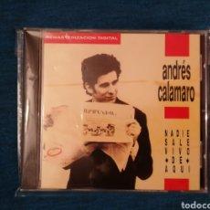 CDs de Música: ANDRÉS CALAMARO NADIE SALE VIVO DE AQUÍ CD NUEVO. Lote 201950773