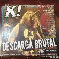CDs de Música: DESCARGA BRUTAL CD PROMOCIONAL DE LA REVISTA KERRANG! DEL 2007. Lote 201960467