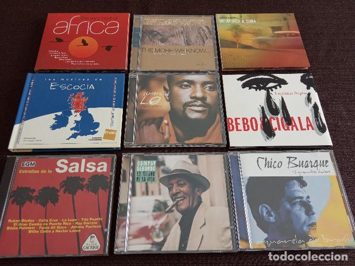 LOTE PACK COLECCION 9 CDS / SALSA ETNICAS LATIN / COMPAY BEBO CIGALA ETC - OCASIÓN !!!! (Música - CD's World Music)