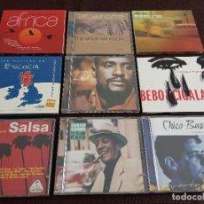 CDs de Música: LOTE PACK COLECCION 9 CDS / SALSA ETNICAS LATIN / COMPAY BEBO CIGALA ETC - OCASIÓN !!!!. Lote 201969970