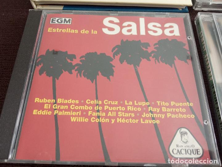 CDs de Música: LOTE PACK COLECCION 9 CDS / SALSA ETNICAS LATIN / COMPAY BEBO CIGALA ETC - OCASIÓN !!!! - Foto 9 - 201969970