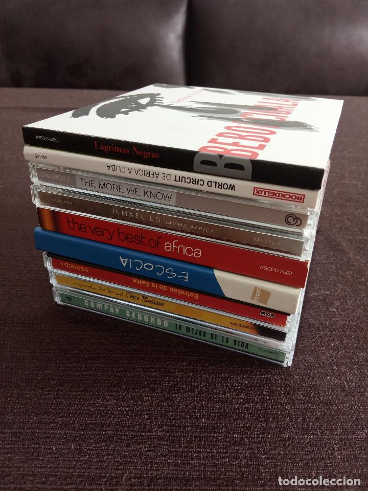 CDs de Música: LOTE PACK COLECCION 9 CDS / SALSA ETNICAS LATIN / COMPAY BEBO CIGALA ETC - OCASIÓN !!!! - Foto 12 - 201969970
