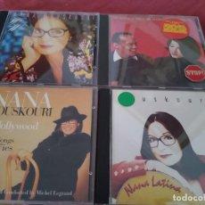 CDs de Música: NANA MOUSKOURI -LOTE 4 CDS IMPORTADOS WHY WORRY-AN EVENING-NANA LATINA -HOLLYWOOD. Lote 201973147