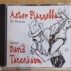 CDs de Música: ASTOR PIAZZOLLA & DAVID TANENBAUM - GUITARRA (EL PORTEÑO) CD 1994. Lote 201976220