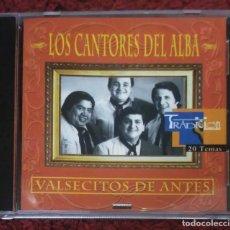CDs de Música: LOS CANTORES DEL ALBA (VALSECITOS DE ANTES) CD 1997 ARGENTINA. Lote 201976953