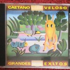 CDs de Música: CAETANO VELOSO (GRANDES EXITOS) CD 1997. Lote 201978245