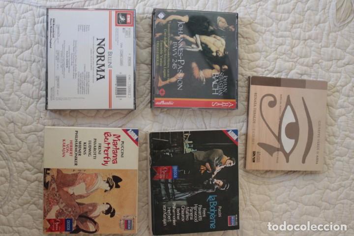CINCO ÓPERAS CON LIBRETO.PAVAROTTI...NUEVAS, PAGA UNA, LLEVA 5. (Música - CD's Clásica, Ópera, Zarzuela y Marchas)