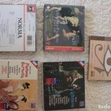 CDs de Música: CINCO ÓPERAS CON LIBRETO.PAVAROTTI...NUEVAS, PAGA UNA, LLEVA 5.. Lote 201988677