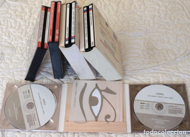 CDs de Música: Cinco Óperas con libreto.Pavarotti...NUEVAS, paga una, lleva 5. - Foto 2 - 201988677