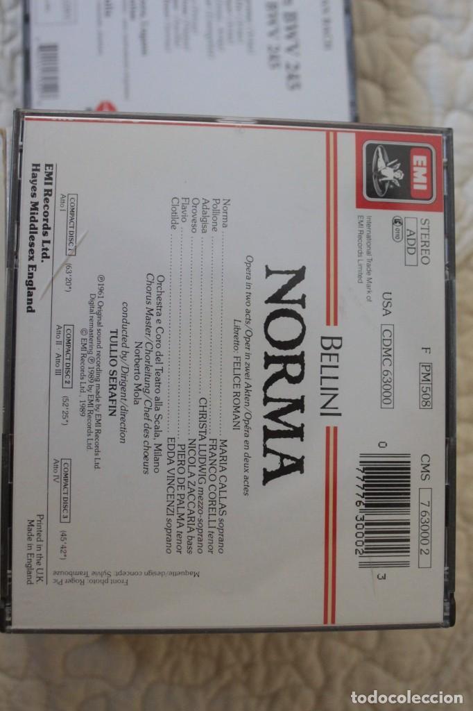 CDs de Música: Cinco Óperas con libreto.Pavarotti...NUEVAS, paga una, lleva 5. - Foto 3 - 201988677