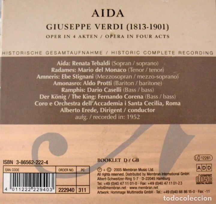 CDs de Música: Cinco Óperas con libreto.Pavarotti...NUEVAS, paga una, lleva 5. - Foto 4 - 201988677