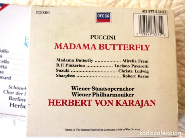CDs de Música: Cinco Óperas con libreto.Pavarotti...NUEVAS, paga una, lleva 5. - Foto 6 - 201988677